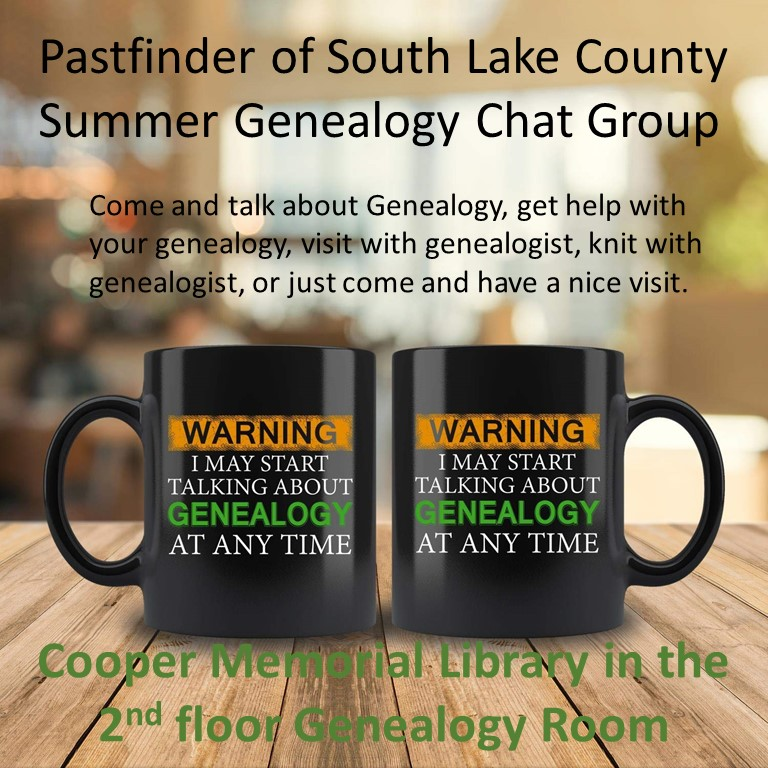 Summer Genealogy Chat